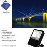 COB 100watts lámpara de proyector LED para la pesca del proyector