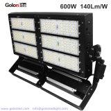 600W高い発電LEDの高いマストライトLED競技場ライトは、屋外600W LEDの洪水ライト1000W HPSを取り替える