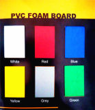 Folha de espuma de PVC barata verde
