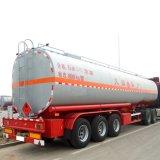 三車軸トレーラー40000リットルのステンレス鋼タンク