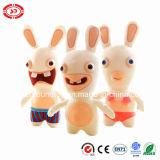 Crazy Rabbid envahir Plush Cartoon Kids doux cadeau jouet en peluche