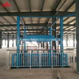 中国の製造者からのカスタマイズされた持ち上がる高さおよび積載量の使用された油圧貨物上昇のエレベーター