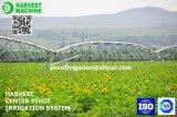 Sistema de extinção de incêndios do uso da irrigação e da irrigação do pivô do centro