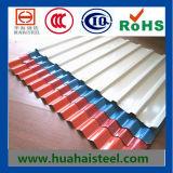 Hoja de acero galvanizada acanalada (0.14-0.8m m)