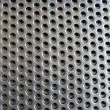 Maglia perforata galvanizzata del metallo delle schede