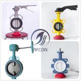 Ferro fundido ou aço fundido ou aço inoxidável Válvula Steelbutterfly