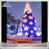 اصطناعيّة خارجيّة زخرفة [لد] [بفك] عيد ميلاد المسيح عملاق شجرة ضوء