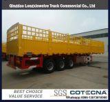 40FT半3つの車軸貨物実用的な容器のサイドウォールのトラックのトレーラー