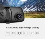 """espertos do """" espelho de Rearview de Adas monitor 4G 7.84 com DVR e o carro duplo Android DVR da lente 1080P WiFi Dashcam da câmera"""