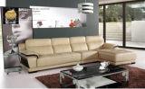 Sofá ajustado da mobília do sofá secional de couro para o sofá da sala de visitas