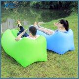 Saco de sono preguiçoso inflável do curso do sofá do ar