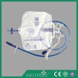 医学の使い捨て可能な2000mlサンプリングの入口弁のフォールドは切る尿袋(MT58043203)を