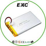 Exc656090 3.7V 4000mAh 재충전용 리튬 중합체 건전지