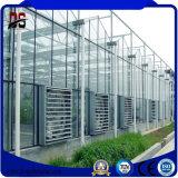 Estrutura de aço galvanizado estufas Comerciais da tampa de vidro