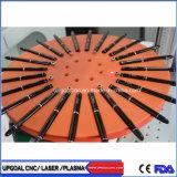 Quantidade de massa de fibra de canetas com máquina de marcação a laser rotativo do disco de viragem