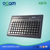 Kb78 Leitor de RFID programável Teclado TPV com leitor de cartão inteligente