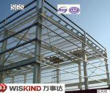 Construction préfabriquée de structure métallique de longue envergure pour l'atelier/entrepôt