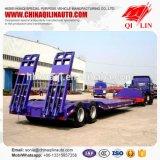 2 de Semi Aanhangwagen van Ejes Lowbed Remolque Plataforma