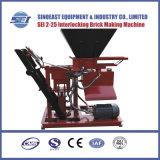 Machine de fabrication de brique Sei2-25 de verrouillage