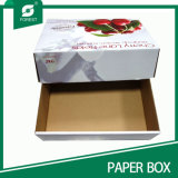 Nuova scatola di cartone di stile per il fornitore della verdura e della frutta