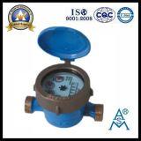 Single Jet Wet Type Medidor de água de bronze
