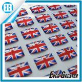 Custom de Resina Epoxi Transparente adhesivo pegatina Domo