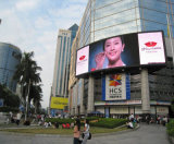 Aluminum sottile P6.25 Curved LED Sign Board per Outdoor Display