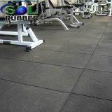 Heavy Duty salle de gym carrelage de sol en caoutchouc commercial