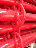 La poudre rouge normale d'échafaudage de Ringlock a enduit en vente