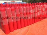 40L de Gasfles van High Pressure Oxygen Nitrogen Argon Composite