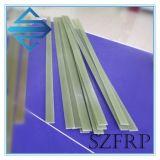 Staaf GRP FRP van Glassfiber van de Glasvezel van de hoogspanning de Bestand Epoxy Vlakke