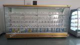 전시 냉각기 상업적인 냉장한 Multideck 슈퍼마켓 진열장을 여십시오