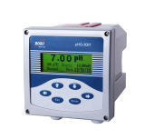Analisador em linha industrial do pH Phg-3081, controlador do pH, monitor do pH
