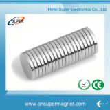 N38 Nickel Strong Disque permanent fritté NdFeB Magnet