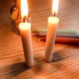 weiße Kerze der Kirche-11g für das Beten