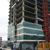 Декоративная со стеклянным фасадом для наружной стены