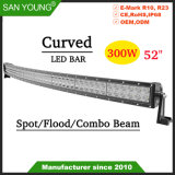Super Bright 300W 52inch Offroad barre lumineuse à LED 4X4 LED des feux de conduite barre LED IP68