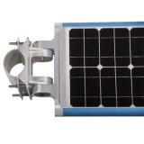 1つの統合された太陽街灯のダイカストのアルミ合金の穂軸をLEDすべて