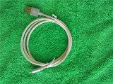 アルミ合金のシェルが付いているナイロンブレードのための電光充電器ケーブル