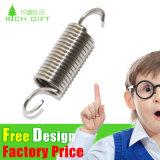 Изготовленный на заказ уступчивые натяжные пружины металла точности