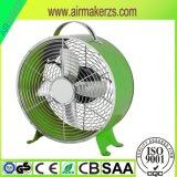 소형 작은 전기 금속 8 인치 시계 모양 탁상용 선풍기 SAA/Ce