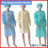 Qualitäts-steriles chirurgisches Kleid mit drapiert