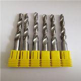 炭化タングステン2のアルミニウム処理のための螺線形のフルートのステップドリル