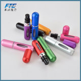 Frascos de perfume de enchimento inferiores do pulverizador de alumínio do atomizador do curso de Refillabl