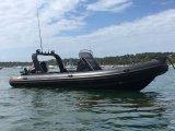 25feet 7.6m Opblaasbare Boot, Boot Rescure, Vissersboot, de Stijve Boot van Hull, pvc of Hypalon