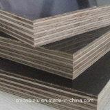 La película impermeable hizo frente a la madera contrachapada, madera contrachapada hecha frente película/madera contrachapada de la fábrica de China