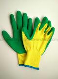 De latex Met een laag bedekte Handschoen van de Bouw van de Veiligheid