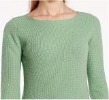 Kaschmir-Pullover-langer Hülsen-runder Stutzen-reine Farben-Strickjacke der Frauen