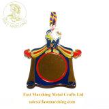習慣は刻まれたフィニッシャーの円形浮彫りの青銅3Dの金属賞メダルをカスタマイズする