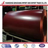 Lamiera di acciaio galvanizzata ricoperta colore d'acciaio preverniciata della bobina PPGL di Gl in bobina
